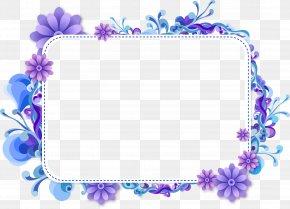 Flower - Floral Design Blue Flower Clip Art PNG