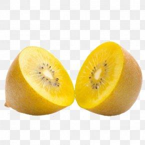Fresh Yellow Heart Kiwi - Actinidia Chinensis Kiwifruit Actinidia Deliciosa Food PNG