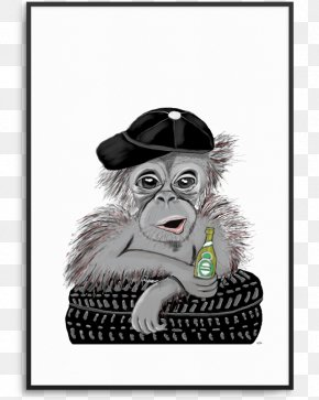 Gorilla - Gorilla Chimpanzee Primate Monkey T-shirt PNG