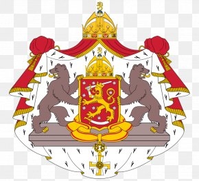 Finland Coat Of Arms - Kingdom Of Finland Karelia Coat Of Arms Of Finland Gulf Of Bothnia PNG