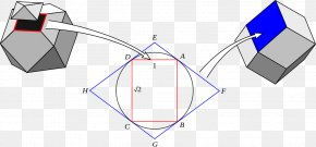 Triangle - Triangle Dual Polyhedron Geometry Duality PNG