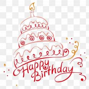 Birthday Cake - Birthday Cake Cupcake Happy Birthday To You PNG