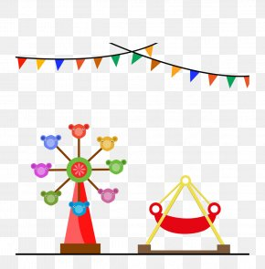 Circus - Amusement Park Pirate Ship Cartoon PNG