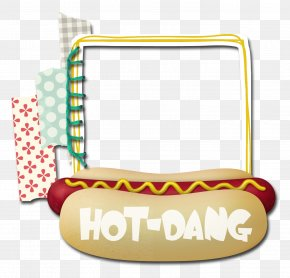Hot Dog - Picture Frames Digital Photo Frame Clip Art PNG