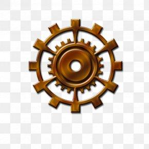 Steampunk Gear Image - Gear Steampunk Clip Art PNG