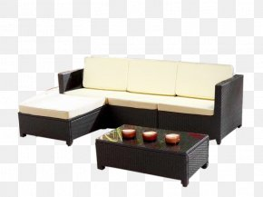 Table - Foot Rests Table Garden Furniture Couch PNG