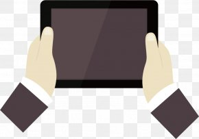 Hands Holding Tablet PC - Tablet Computer Download Computer File PNG