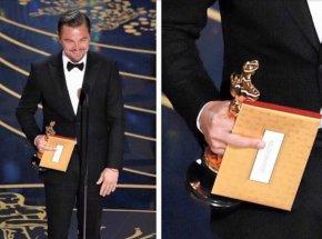 Leonardo Dicaprio - 88th Academy Awards Leo Academy Award For Best Actor Film PNG