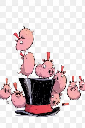 Pink Pig Illustrator - Dorothy And The Wizard In Oz Dorothy Gale The Wonderful Wizard Of Oz The Oz Books PNG