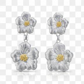 Jewellery - Earring Jewellery Buccellati Silver Gold PNG