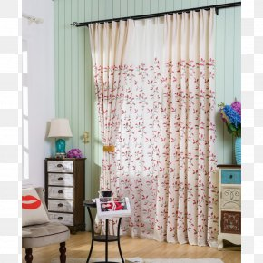 Fresh Curtain - Curtain Window Blinds & Shades Bedroom PNG