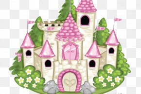 Castle Princess - Greeting & Note Cards Birthday Fairy Tale Christmas PNG