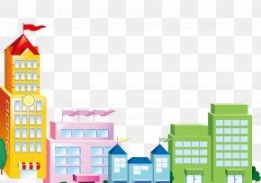 Cartoon City - Liuyang Wireless Internet Wi-Fi PNG