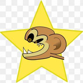 Crazy People Cartoons - The Evil Monkey Clip Art PNG