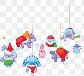 Reindeer - Santa Claus New Year Christmas Clip Art PNG