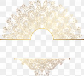 Hand Painted Gold Pattern - Pattern PNG