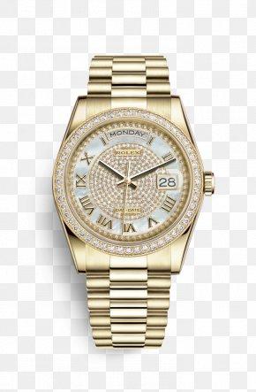 Rolex - Rolex Datejust Rolex Daytona Rolex Day-Date Watch PNG