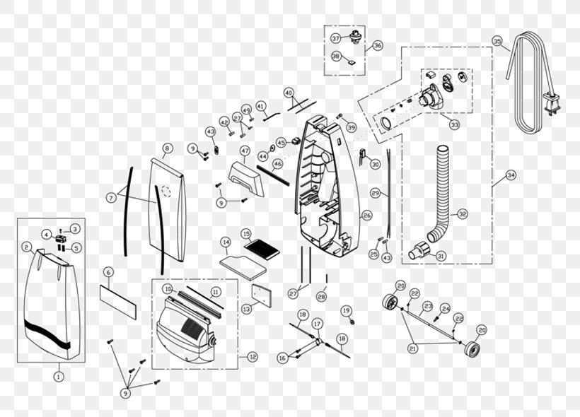 Wiring Diagram Of Vacuum Cleaner