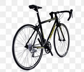 Black Cycling Road Vehicle - Bicycle Pedal Bicycle Frame Bicycle Wheel Shimano Ultegra PNG
