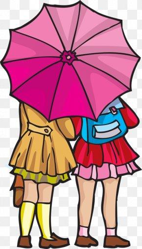 Rainy Day Cliparts - Rain Umbrella Clip Art PNG