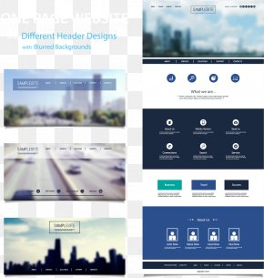Vector Web Design Renderings - Web Template Web Design Icon PNG