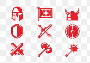 Western War Sword Big Helmet - Crusades Knights Templar Vecteur Icon PNG