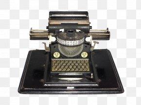 Typewriter - Paper Germany Typewriter Office Supplies Toy PNG