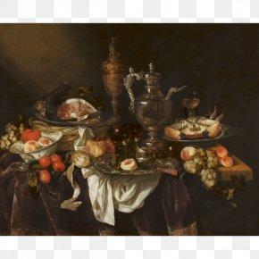 Still Life - Mauritshuis Banquet Still Life Pronkstilleven Rijksmuseum PNG