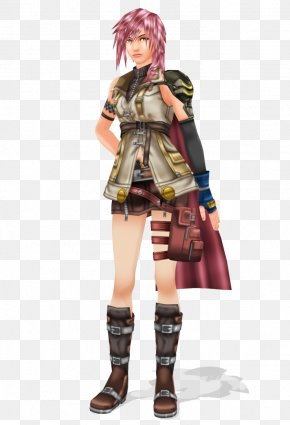 Final Fantasy Xiii - Final Fantasy XIII Costume Design Lightning Art PNG