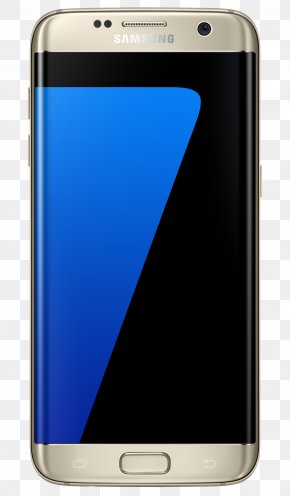 Galaxy S7 Edge - Samsung Telephone 4G Gold Unlocked PNG