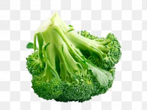 Backwards Put Broccoli - Chinese Broccoli Cauliflower Cabbage Cruciferous Vegetables PNG