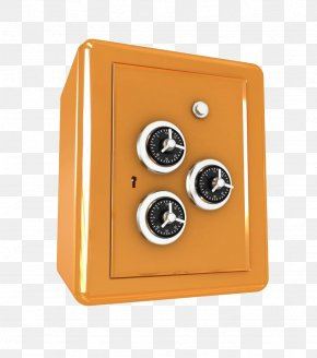 The Three Locks On The Safe - Combination Lock Safe Password PNG