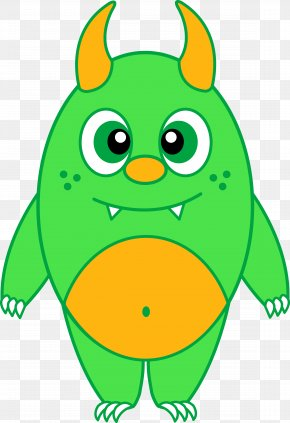 Cartoon Monster Cliparts - Monster Drawing Clip Art PNG