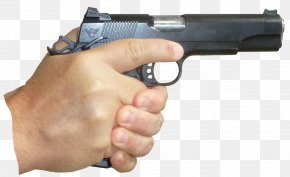 Holding - Firearm Trigger Weapon Pistol Revolver PNG
