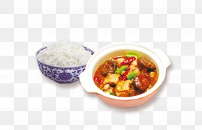 Braised Chicken And Rice Bowl Material - Indian Cuisine Cazuela Chicken Cooked Rice Bowl PNG