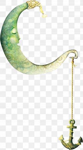 Cartoon Moon - Moon Crescent Clip Art PNG