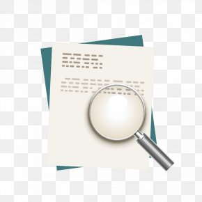 Magnifying Glass And Paper - Paper Magnifying Glass Magnifier PNG
