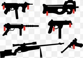 Vector Firearms Shooting - Firearm Airsoft Gun Pistol Weapon Handgun PNG