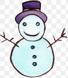 Snowman Christmas Vector Material - Snowman Christmas Clip Art PNG