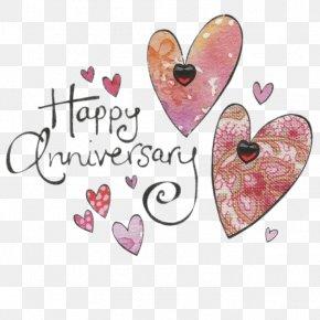 Birthday - Happy Anniversary Wedding Anniversary Birthday Greeting & Note Cards PNG