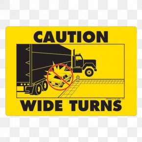 Decal - Car Decal Truck Oversize Load Sticker PNG