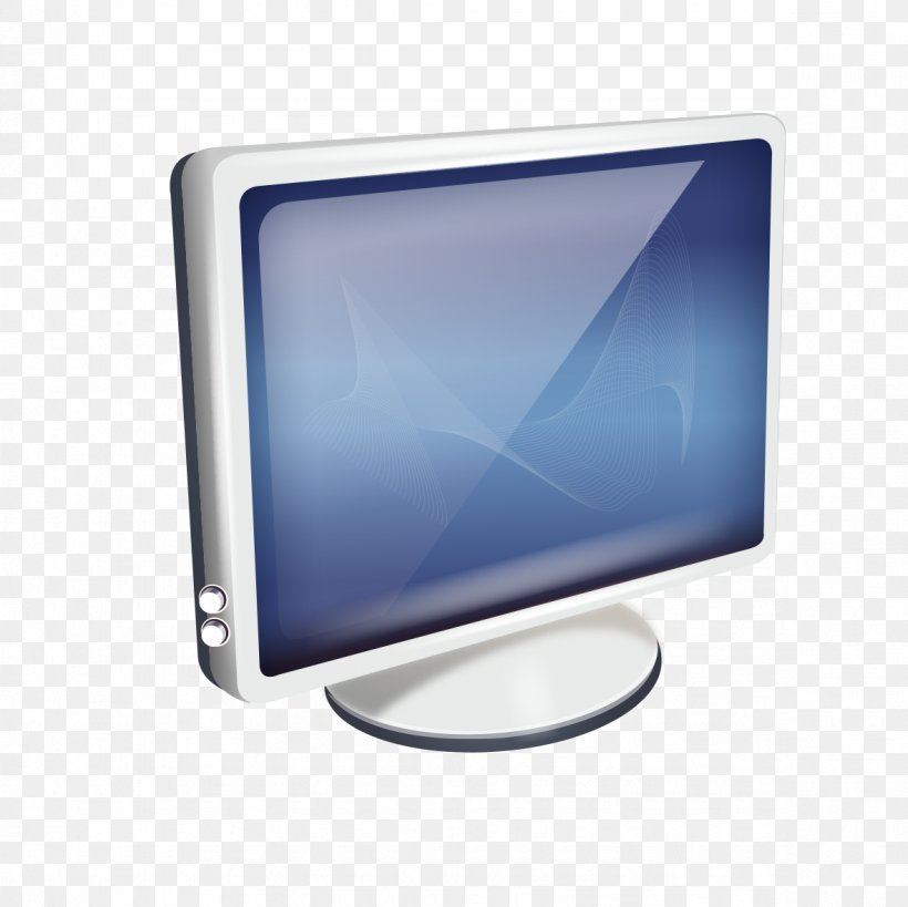 Computer Monitor Display Device Electronic Visual Display, PNG, 1181x1181px, Computer Monitors, Blue, Computer Graphics, Computer Icon, Computer Monitor Download Free