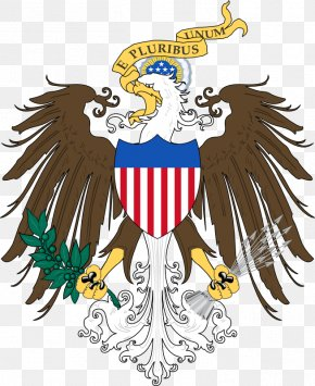 Usa Gerb - Great Seal Of The United States Coat Of Arms Of Austria Monarchy PNG