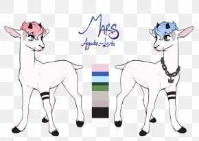 Afternoon - Goat Sheep Cattle Drawing Art PNG