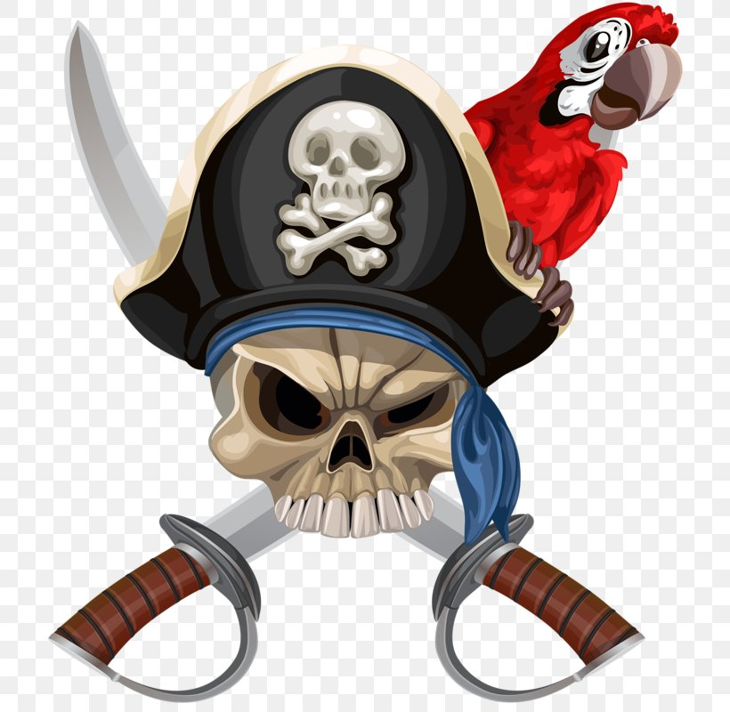 Parrot Piracy Hat Jolly Roger, PNG, 714x800px, Piracy, Fictional Character, Hat, Headgear, Illustration Download Free