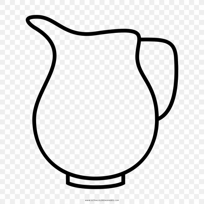 Jug Coloring Book Pitcher Drawing Mug Png 1000x1000px Jug Area Black And White Child Coloring Book