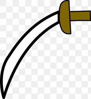 Fig Ring - Katana Cutlass Sword Weapon Clip Art PNG