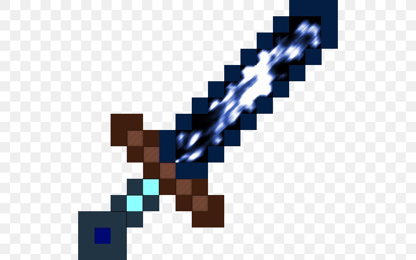 Minecraft Pocket Edition Pixel Art Terraria Sword Png