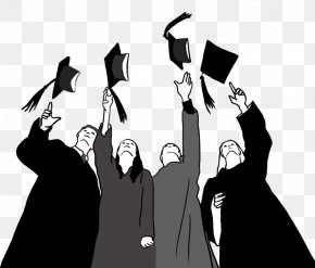 School - Graduation Ceremony Square Academic Cap Clip Art Graduate University Drawing PNG