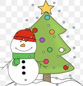 Christmas Clip Art - Santa Claus Christmas Tree Clip Art PNG